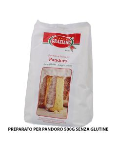 Carta & Company Tutto per il Party |  PREPARATO PER PANDORO 500G SENZA GLUTINE