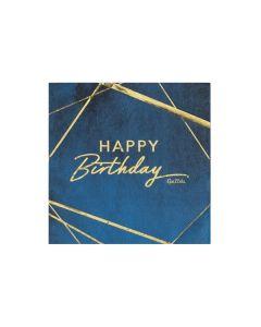 Carta & Company Tutto per il Party |  TOVAGLIOLI HAPPY BIRTHDAY BLU PZ.16