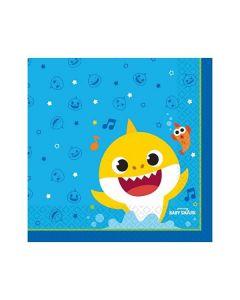 Carta & Company Tutto per il Party |  TOVAGLIOLO BABY SQUALO BABY SHARK PZ.16